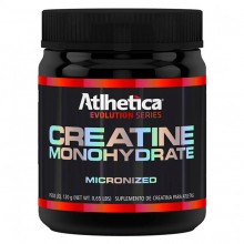 Creatine Monohidratada Micronizada (120g) - Atlhetica Nutrition