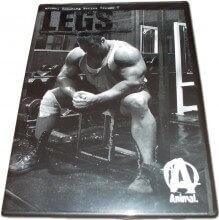 DVD ANIMAL Training Series Volume V - Legs (Pernas) - Universal Nutrition