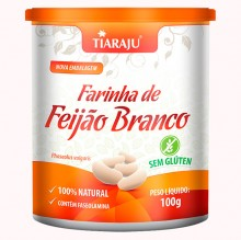 Farinha de Feij�o Branco (100g) - Tiaraju