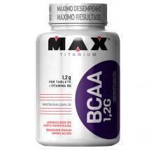 Imagem - BCAA 1,2G c/ Vitamina B6 (120 tabs) - Max Titanium