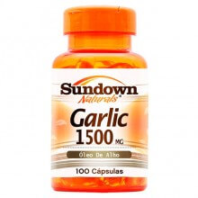 Garlic  (Óleo de Alho) 1500mg (100 caps) - Sundown