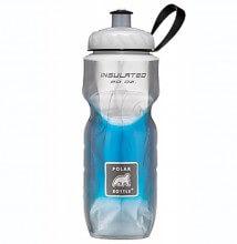 Garrafa Térmica Degradê Azul (590ml) - Polar Bottle