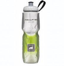 Garrafa Térmica Degradê Verde (710ml) - Polar Bottle