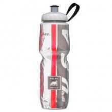 Garrafa T�rmica USA Preta e Vermelha (710ml) - Polar Bottle