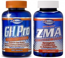 Kit GH Pro (100tabs) + ZMA (120caps) - Arnold Nutrition