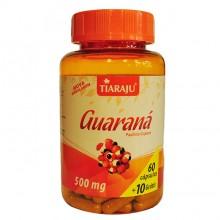 Guaraná 500mg (60caps + 10 Grátis) - Tiaraju