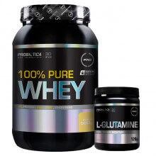 Kit 100% Pure Whey (900g) + L-Glutamina (120g) - Probiótica