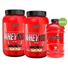 Imagem - Kit 2 Super Whey 100% Pure (907g) - Integralmédica + BRINDE