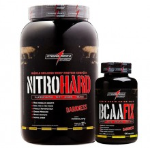 Kit Nitro Hard (907g) + BCAA Fix (120tabs) - Integralm�dica