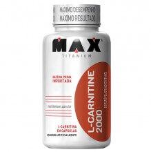 L-Carnitine 2000mg (60caps) - Max Titanium