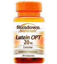 Luteína OPT 20mg (30caps) - Sundown