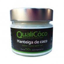 Manteiga de Coco (150g) - Qualicôco