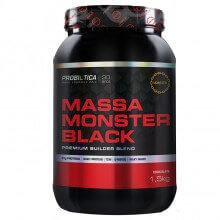 Massa Monster Black (1,5 kg) - Probiótica