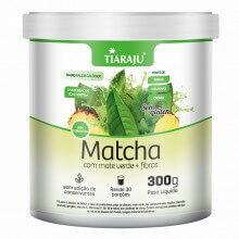 Matcha com Mate Verde + Fibras (300g) - Tiaraju