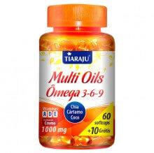 Multi Oils (�mega 3 - 6 - 9) (60caps + 10 Gr�tis) - Tiaraju