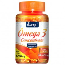 Ômega 3 Concentrate 1250mg (30caps) - Tiaraju