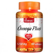 Ômega Plus (Ômegas 3-6-9) 1250mg (60caps) - Tiaraju