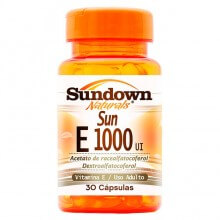 Sun E 1000 UI (Vitamina E) (30caps) - Sundown
