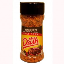 Tempero Hamburger Grilling (71g) - Mrs Dash