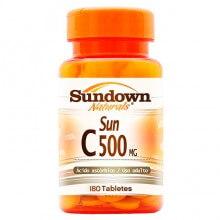 Vitamina C 500mg (180tabs)  - Sundown