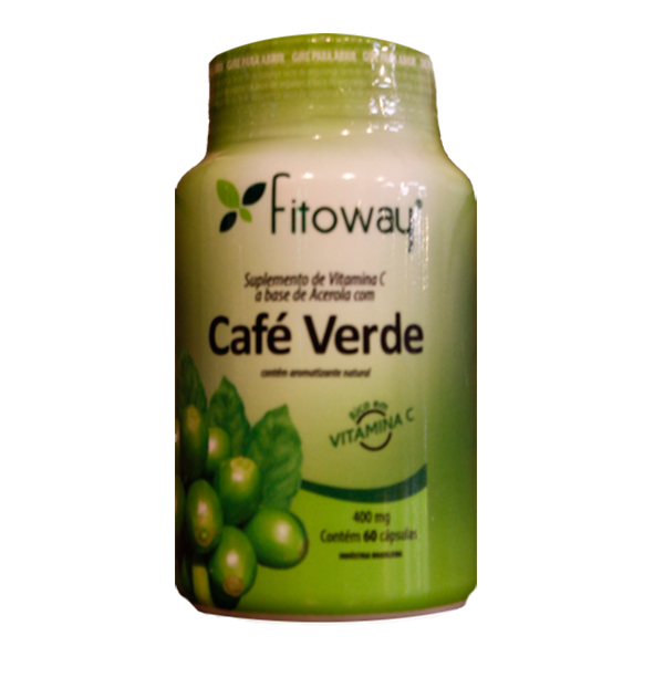 Café Verde 400mg (60caps) - Fitoway | Biopoint