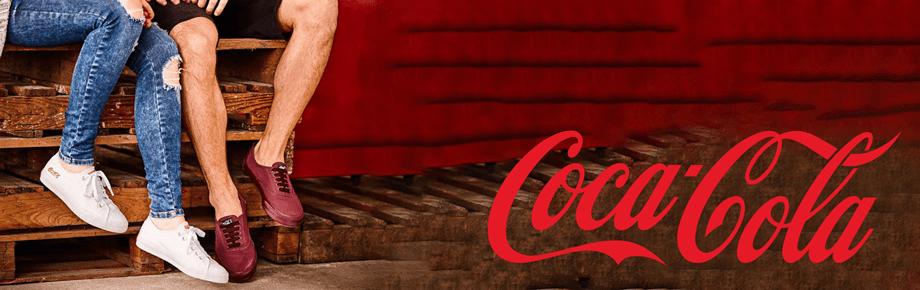 banner marca coca-cola