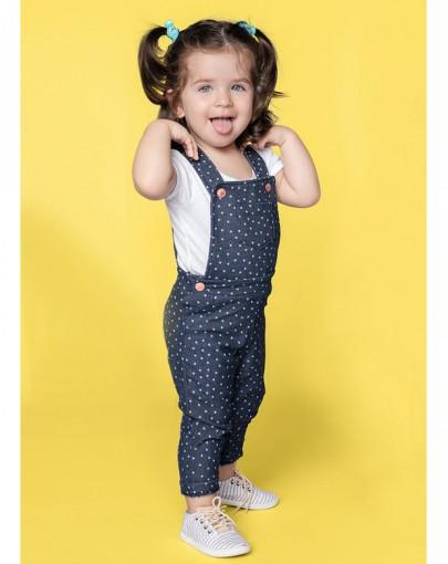Bizz store jardineira jeans infantil feminina hering for Jardineira jeans infantil c a