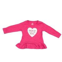Imagem - Blusa Infantil Bebê Menina Hering Kids 5ccnau310  - 054254