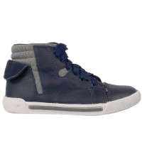 Imagem - Bota Infantil Masculina Bibi Sneakers New Couro 815091 - 040909