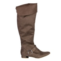 Imagem - Bota Over The Knee Bebecê Suede 2710-344  - 041040