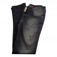 Imagem - Calça Jeans Infantil Colcci Fun Tina Indigo 002.01.05846  - 036152