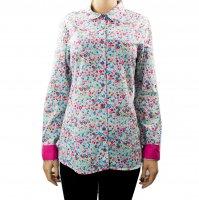 Imagem - Camisa Feminina Maria Eugenia Floral F204  - 032500