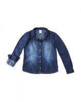 Imagem - Camisa Jeans Infantil Hering Kids C75tjelus - 055077