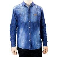 Imagem - Camisa Jeans Masculina Gangster 15.13.0043 - 055354