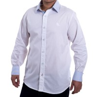 Imagem - Camisa Social Masculina Acostamento Manga Longa 58101044 - 025370