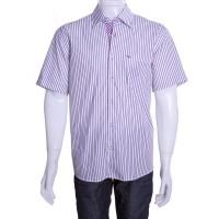 Imagem - Camisa Social Masculina W.Albann Fio 50 Manga Curta 10073  - 049640