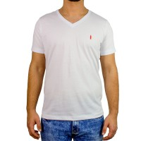 Imagem - Camiseta Masculina Gola V Coca-Cola 035.32.05130  - 052124