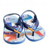 Imagem - Chinelo Infantil Masculino Ortopé Aqua Flex PVC 2107124 - 055848