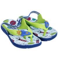 Imagem - Chinelo Infantil Masculino Ortopé Aqua Flex PVC 2107124 - 050253