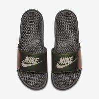 Imagem - Chinelo Slide Nike Benassi Just Do It Print 618919-012  - 056343