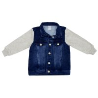 Imagem - Jaqueta Jeans Infantil Hering Kids C31ylusej  - 055555