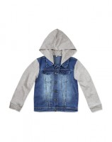 Imagem - Jaqueta Jeans Infantil Hering Kids C31xjelus - 054408