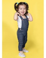 Imagem - Jardineira Infantil Feminina Hering Kids Jeans 58b01a00  - 050010