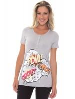 Imagem - Kit Mamãe e Bebê Recco Camiseta + Body 09788  - 051767