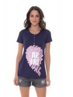Imagem - Kit Mamãe e Bebê Recco Camiseta + Body 09788  - 051768