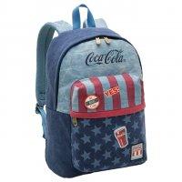 Imagem - Mochila Coca-Cola Nation Jeans Porta Notebook e Tablet 7112804  - 055421