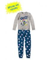 Imagem - Pijama Infantil Hering Kids Brilha No Escuro 56qam2h00  - 055036