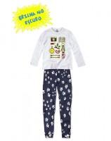 Imagem - Pijama Infantil Hering Kids Brilha No Escuro 56qam2h00  - 055099