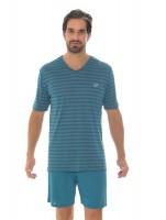 Imagem - Pijama Masculino Recco Modo Avião Listrado 09482  - 051703