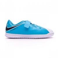 Imagem - Tênis Infantil Futsal Nike Hypervenomx Phade 3 JR 852591-104  - 054739